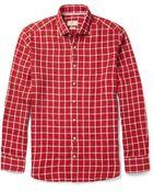 Hackett Mayfair Checked Linen Shirt - Lyst