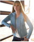 Inc International Concepts Quilted Fauxleather Moto Jacket - Lyst