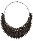 Deepa Gurnani Accordion-Bib Beaded Necklace - Lyst