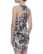IRO Donovan Printed Slub Dress - Lyst