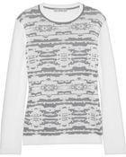 Dagmar Darika Intarsia Knitted Sweater - Lyst