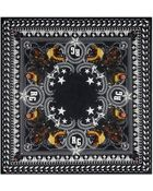 Givenchy Reflective Rottweiler Scarf - Lyst