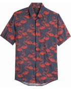 Marc Jacobs Flamingo Print Shirt - Lyst