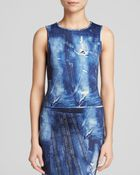Cynthia Rowley Top - Bloomingdale'S Exclusive Bonded Denim Print - Lyst