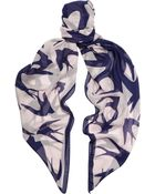 McQ by Alexander McQueen Printed Modal Scarf - Lyst