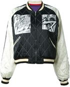 McQ by Alexander McQueen Manga Print Bomber Jacket - Lyst