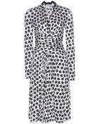 Issa Phylis Printed Silk Dress - Lyst