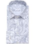 Etro Slim-Fit Single-Cuff Paisley-Print Shirt - For Men - Lyst