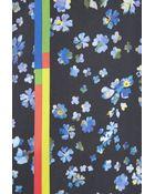 Preen Joslyn Floral-Print Cotton-Blend Pencil Skirt - Lyst