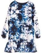 Cynthia Rowley Exaggerated Ruffle Dress - Lyst