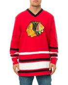 Mitchell & Ness The Chicago Blackhawks Hockey Jersey - Lyst