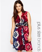 Praslin Plus Size Printed Dress - Lyst