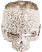 Lynn Ban Skull Ring - Lyst