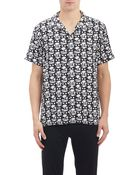 Marc By Marc Jacobs Mixed-Print Shirt - Lyst