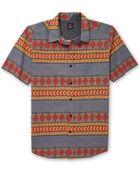 Volcom Slander Short Sleeve Woven Shirt - Lyst
