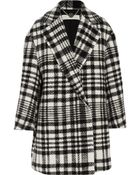 Stella McCartney Fonny Oversized Checked Wool And Alpaca-Blend Coat - Lyst