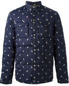 Penfield Pooch Print Quilted Jacket - Lyst