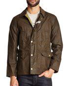 Barbour Coltdale Waxed Cotton Jacket - Lyst
