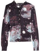 Marc By Marc Jacobs Galaxy Print Cotton Cardigan - Lyst