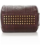 Alexander Wang Rockie Sling In Beet With Antique Brass - Lyst