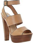 Steve Madden Dezzzy Platform Heeled Sandals - Lyst