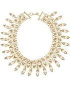 Tory Burch Candelaria Goldplated Resin Necklace - Lyst