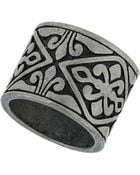 Topshop Engraved Tribal Ring - Lyst