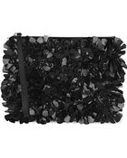 Marni Embellished Leather Clutch Bag - Lyst