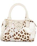 Roberto Cavalli Girls Leopard-Print Crossbody Bag - Lyst