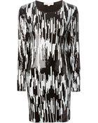 MICHAEL Michael Kors Sequinned Dress - Lyst
