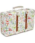 Flowers Of Liberty Theodora Liberty Print Mini Suitcase - Lyst