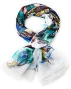 Christian Lacroix Silk Butterfly Scarf - Lyst