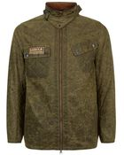 Barbour Devonport Beeswax Coated Jacket - Lyst