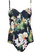 Ted Baker Opulent Bloom Swimsuit - Lyst