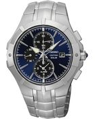 Seiko Men'S Chronograph Coutura Solar Alarm Stainless Steel Bracelet Watch 41Mm Ssc197 - Lyst