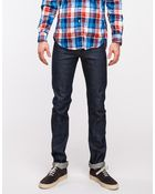 Need Supply Co. Skinny Guy Dirty Fade Selvedge - Lyst
