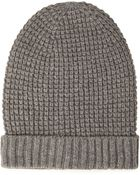 Forever 21 Waffle Knit Fold-Over Beanie - Lyst