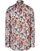 Paul Smith Sketch Print Shirt - Lyst