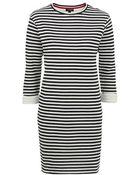 Topshop Tall Striped Tunic Dress - Lyst