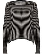 Alice + Olivia Boxy Ribbed Sweater - Lyst