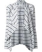 Velvet 'Chioma' Stripe Cardigan - Lyst