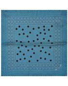 Dolce & Gabbana Geometric-Print Silk Pocket Square - Lyst