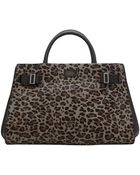 Vince Camuto Eli Leather Small Satchel - Lyst