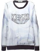 Kenzo 'Paper' Sheer Sweatshirt - Lyst