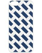 J.Crew Crosshatch Case For Iphone® 5/5S - Lyst