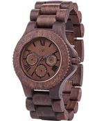 Wewood Sitah Indian Rosewood Wood Chrono Watch - Lyst