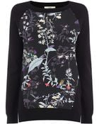 Oasis Woven Front Hummingbird Top - Lyst