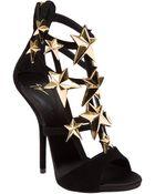 Giuseppe Zanotti Star Embellished Sandals - Lyst