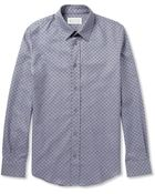 Maison Margiela Slim-Fit Patterned Cotton Shirt - Lyst