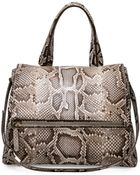 Givenchy Pandora Pure Small Python Satchel Bag - Lyst